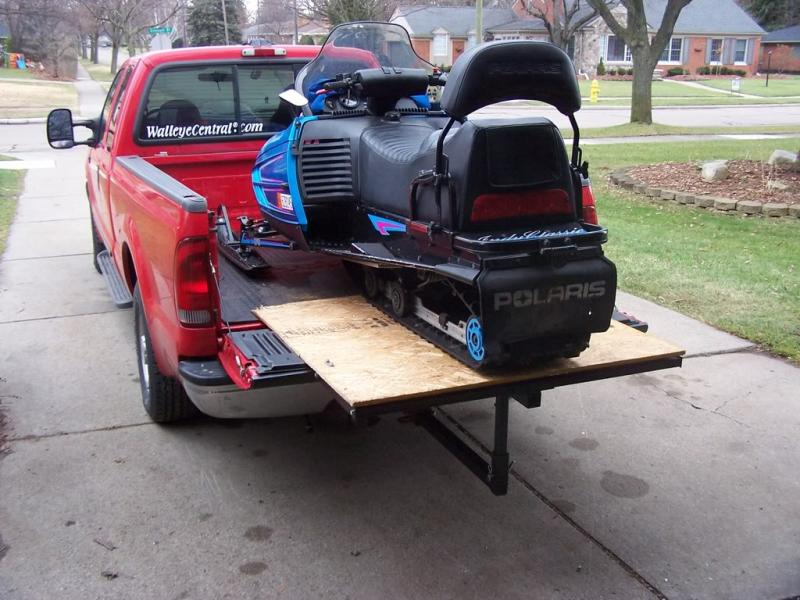 How to carry/transport sled - Page 2 - Snowmobile Forum ...