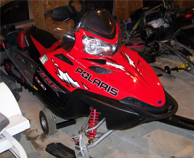 2005 polaris rmk 900 159 u0026quot  long track sled snowmobile