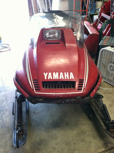Arctic Cat Snowmobiles >> 1980 Yamaha SS440- Located in Convoy, OH 30 minutes east ...
