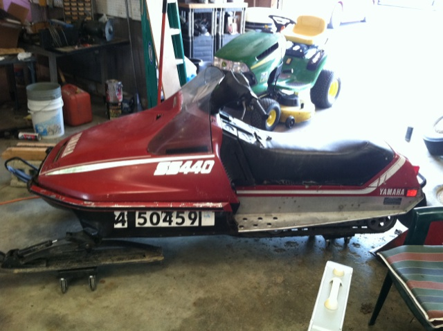 1980 Yamaha Ss440 Located In Convoy Oh 30 Minutes East