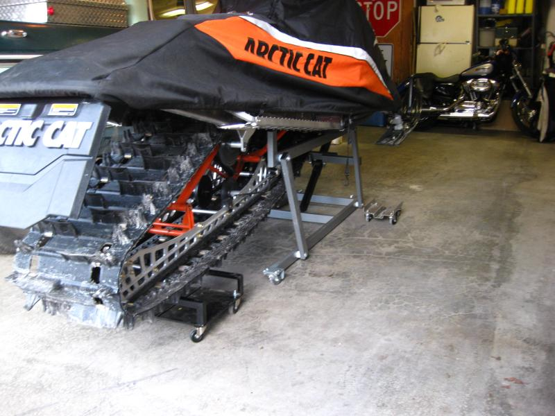Diy Stand For Snowmobile Snowmobile Forum Your 1