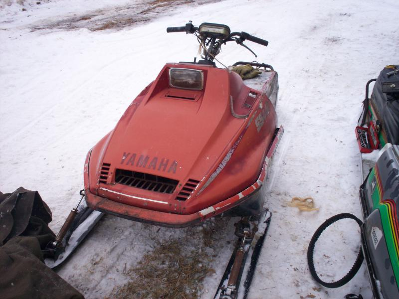 Project 80 Yamaha SS440 - Snowmobile Forum: Your #1