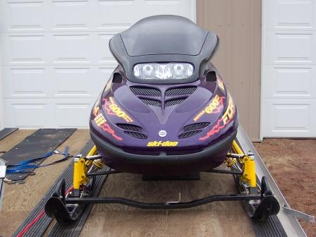 New Snowmobile Trailer Seal The Deck Snowmobile Forum
