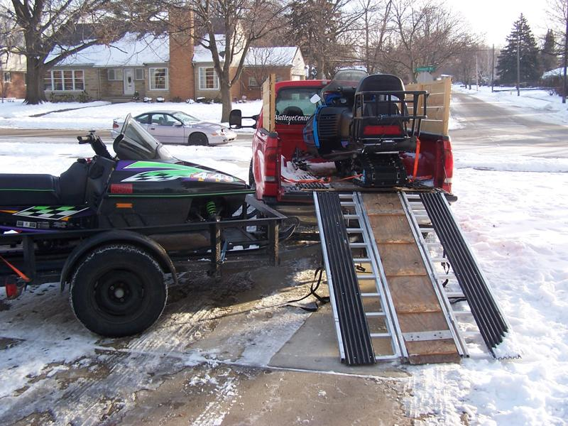 Sled Ramp For My Pickup Page 4 Snowmobile Forum Your