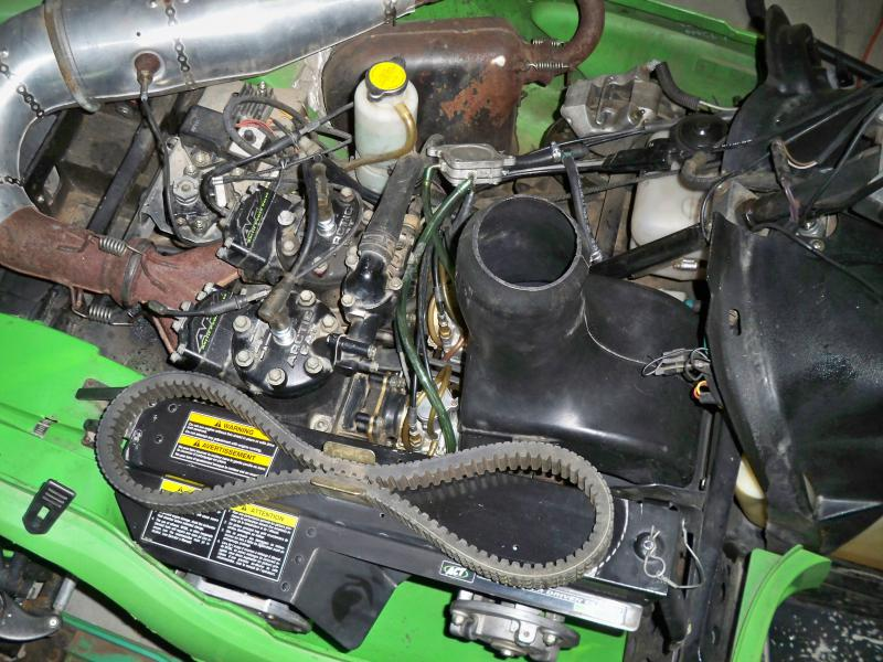 black oil coming out of exhaust - Snowmobile Forum: Your ...