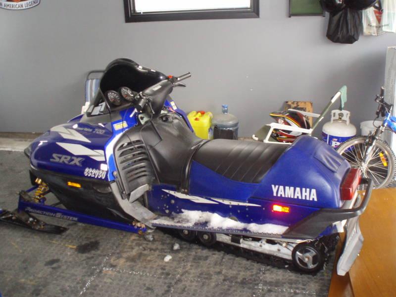Old Yamaha Snowmobiles For Sale