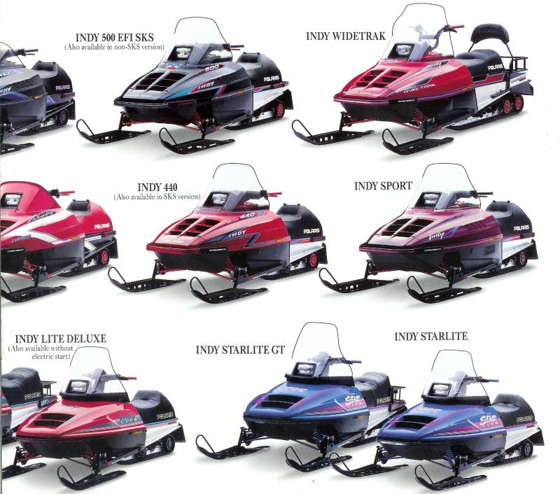 1993 Polaris Indy 500 Classic Snowmobile Forum Your 1