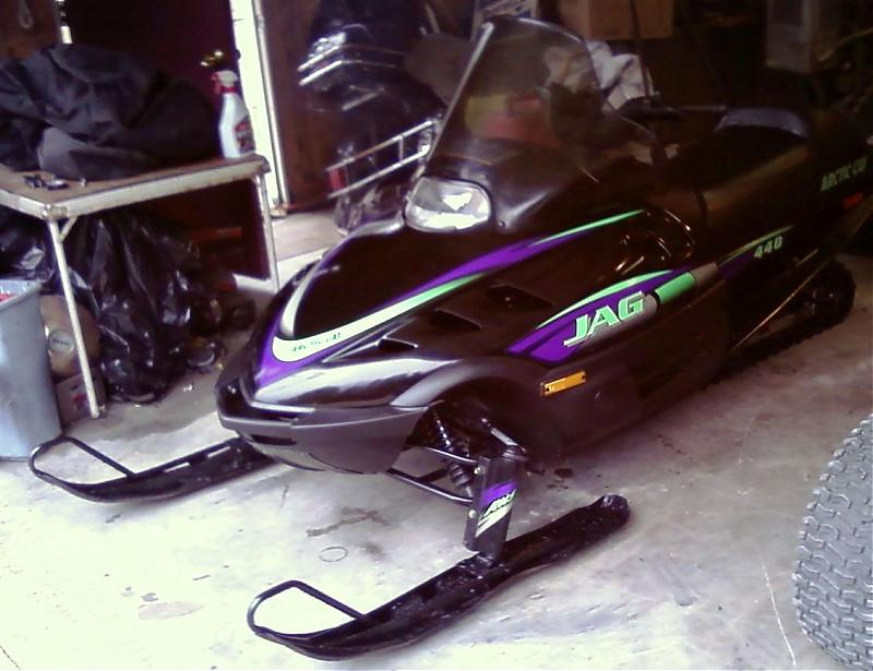 Arctic Cat Snowmobiles 2010. 1998 artic cat kitty cat