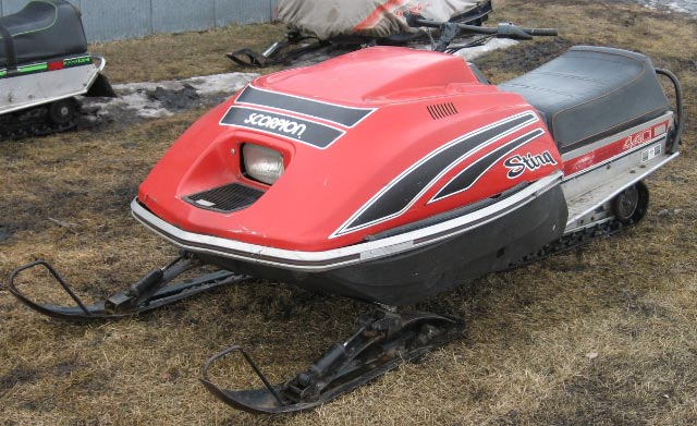 Polaris Snowmobiles For Sale >> FOR SALE: 1979 Scorpion 440 Sting and 1975 Scorpion 340 Lil Whip - $375 (Grand Forks ...
