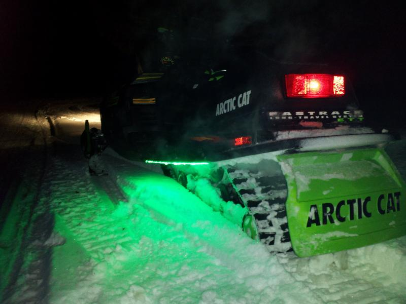Led Light Strips On A Snowmobile Snowmobile Forum