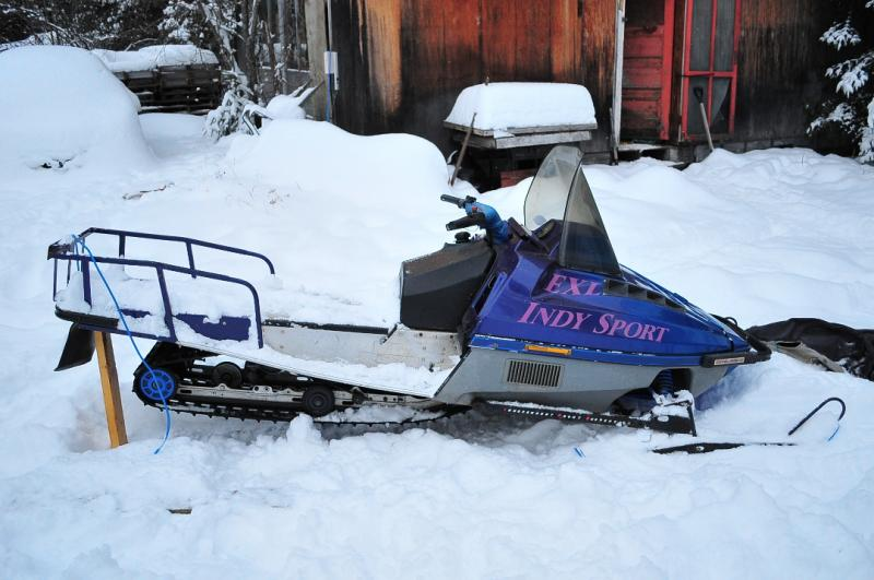 Old Indy Won't Move - Snowmobile Forum: Your #1 Snowmobile Forum