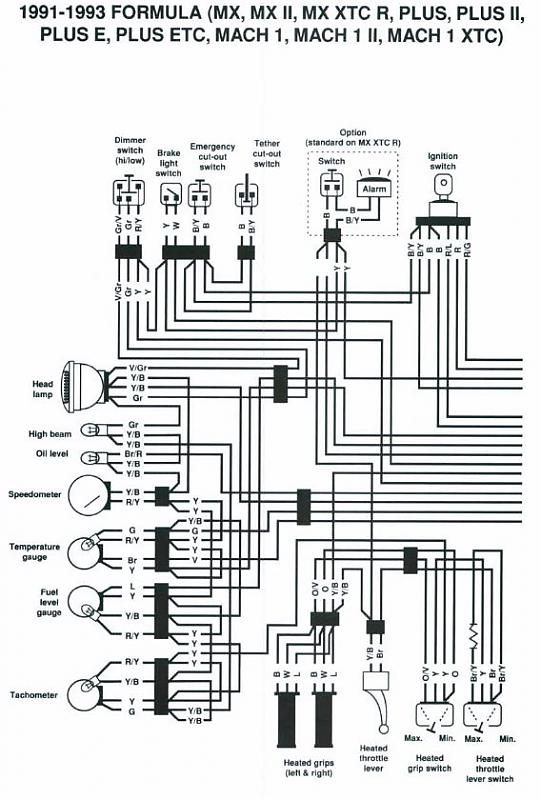Ski Doo Wiring Diagrams - Wiring Solutions