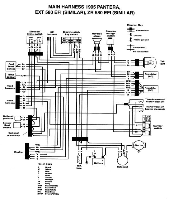 [DIAGRAM_38EU]  Battery not charging 95 Wildcat Efi | Snowmobile Forum | 1993 Arctic Wildcat Wiring Diagram |  | Snowmobile Forum
