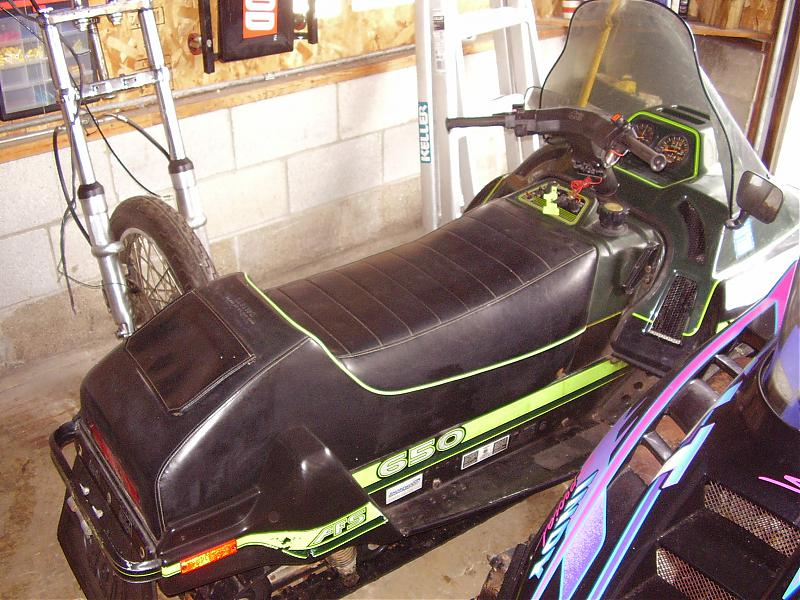 Arctic Cat Snowmobiles 500. 1988 Arctic Cat Wildcat 650