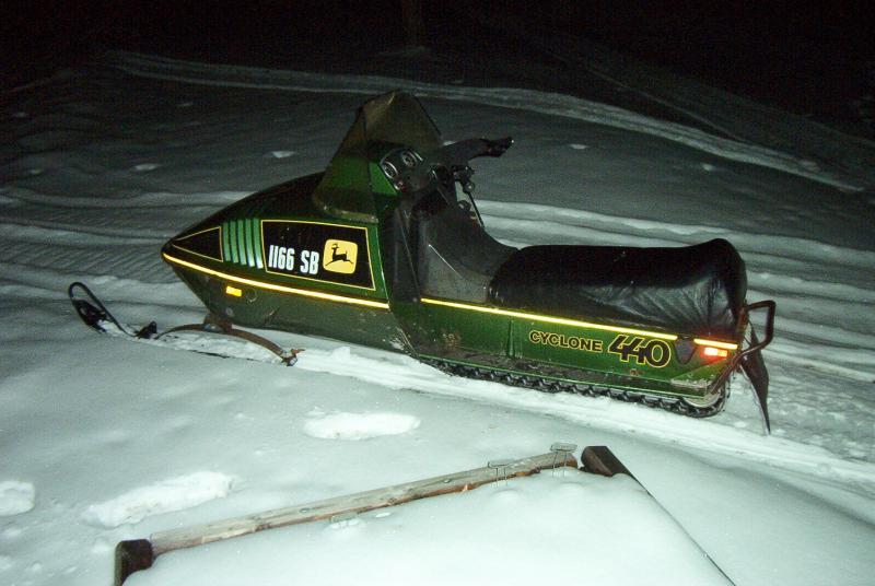 1977 john Deere cyclone 440 - Snowmobile Forum: Your #1 ...