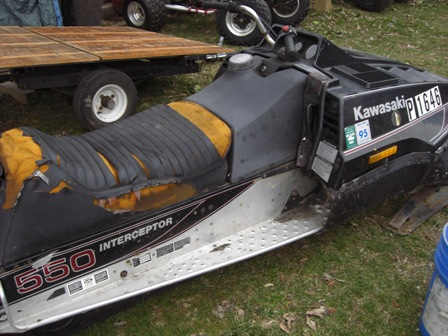 1982 kawasaki interceptor 550 - snowmobile forum: your #1
