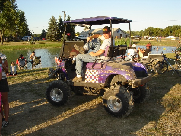Converting a ATV - Snowmobile Forum: Your #1 Snowmobile Forum on quad atv, bag boy quad cart, quad push cart, quad trailer,
