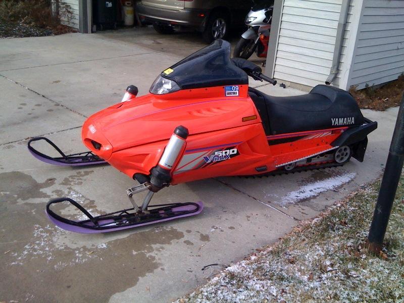1995 yamaha vmax 600 snowmobile