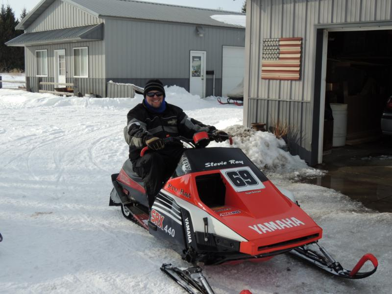 Stevie Ray's Vintage Yamaha Snowmobiles - Snowmobile Forum ...
