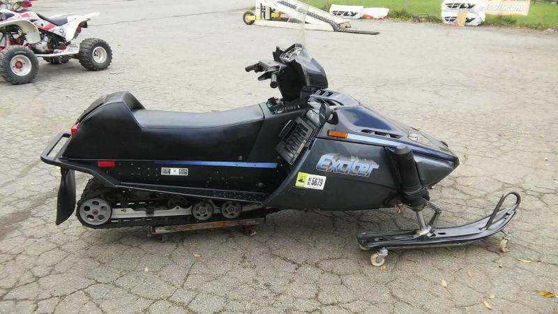 1989 Yamaha Exciter 570 $1499 - Snowmobile Forum: Your #1 Snowmobile