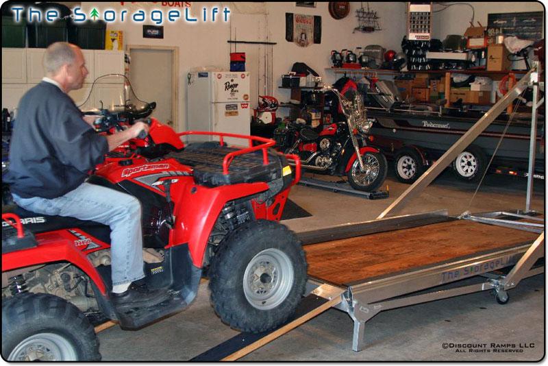 Click Image For Larger Version Name Garage Storage Lift 1 Jpg