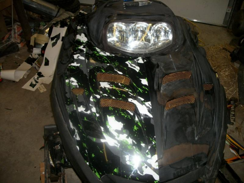 Hood Wraps For Older Sleds Snowmobile Forum Your 1