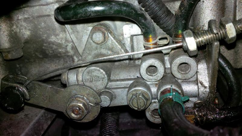 Oil Leveroil Pump Problem Snowmobile Forum Your 1