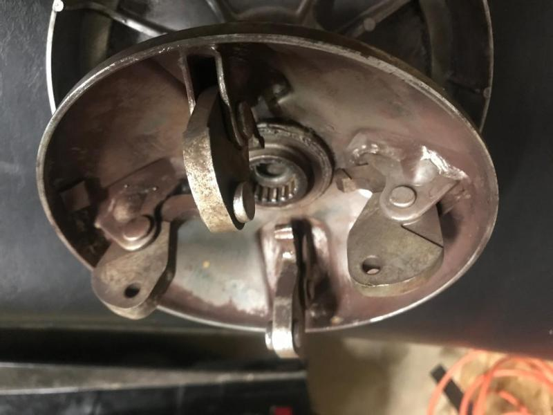 1978 Yamaha Enticer 250 clutch help - Snowmobile Forum: Your