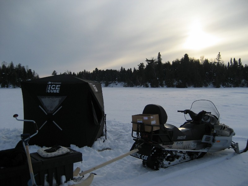 Sugestions on ice fishing/trapping sled - Snowmobile Forum