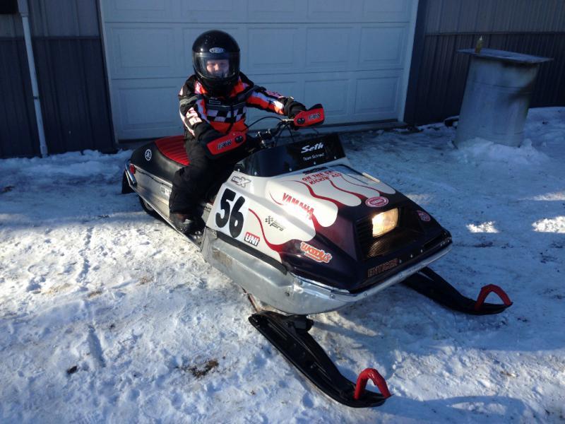 Opinion Vintage racing yamaha snowmobile