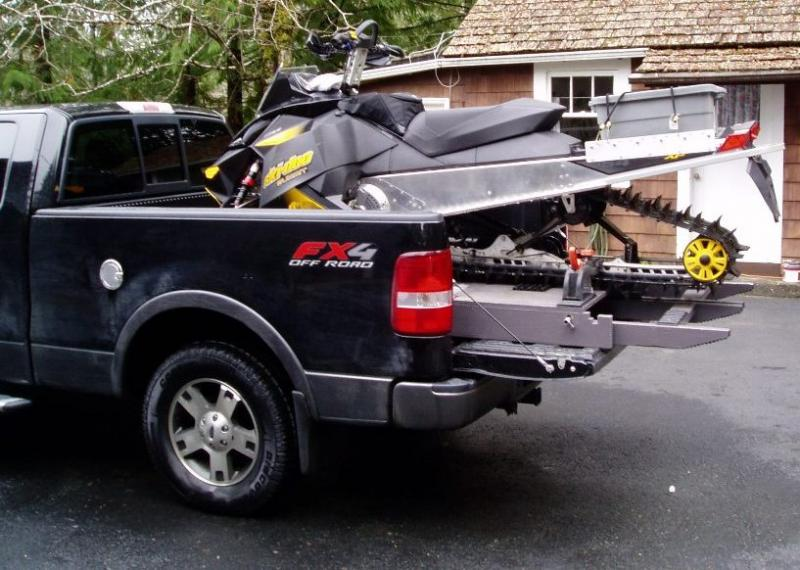 Ford Box Truck >> Sled deck - home built - Snowmobile Forum: Your #1 Snowmobile Forum