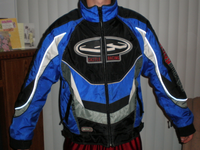 Blue Castle X Racing Snowmobile Jacket Snowmobile Forum Your 1