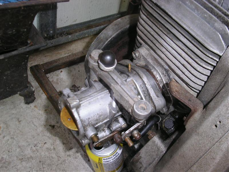 Old Snowmobile Engines- Sachs 340