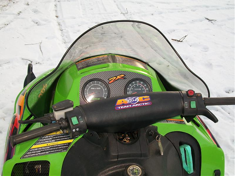 Arctic Cat Snowmobiles 500. 1998 ZR 500 Artic Cat 3500 mi