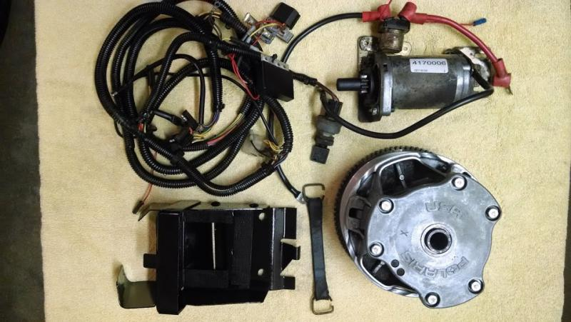 D Polaris Electric Start Kit Polaris Fuji Electric Start Kit
