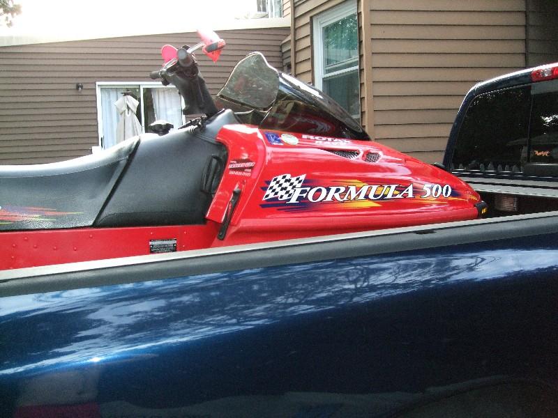 1995 Arctic Cat ZR700 1998 SkiDoo Formula 500 2000 MXZ 700
