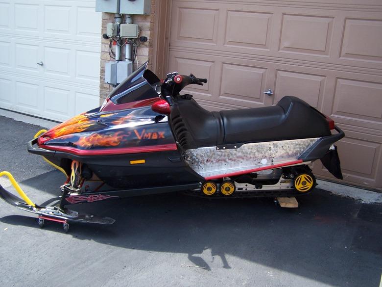 97 Yamaha Vmax Skid Snowmobile Forum Your 1 Snowmobile