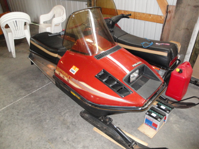 10258d1246498042 1986 polaris sprint very low miles sled 1 1986 polaris sprint very low miles $550 snowmobile forum your 1