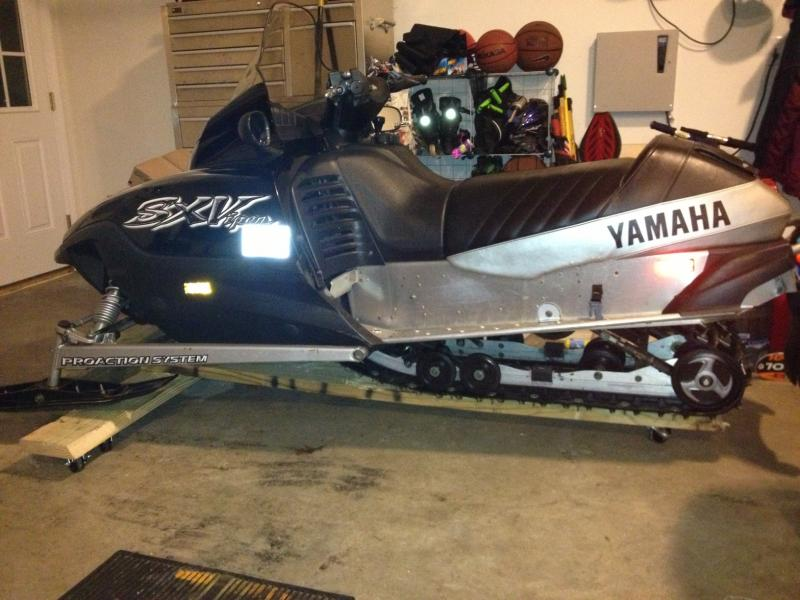 Stuck brake or smoked the drive belt a bit? - Snowmobile Forum: Your