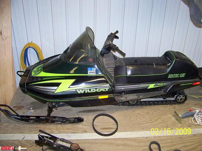 1996 Arctic Cat Wildcat http://www.kootation.com/1996-arctic-cat-zrt600-secondary-clutch-zrt-600.html