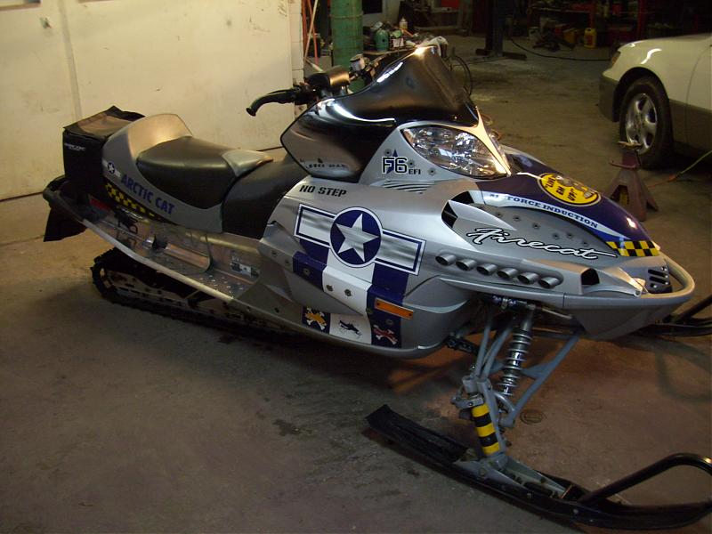 FS- 04 Arctic cat F6 sno pro- Fighter pilot edition - Snowmobile Forum: Your